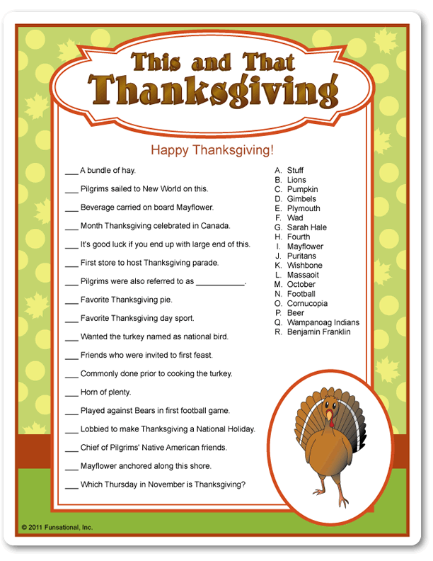 10 Thanksgiving Trivia Questions Kitty Baby Love