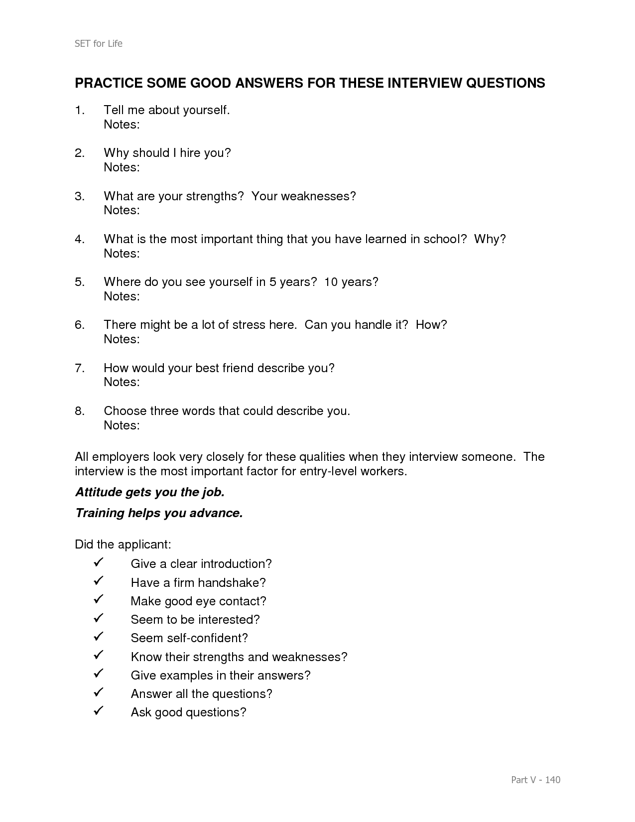 17 Best Images Of Interview Questions And Answers