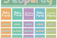 26 New Baby Shower Jeopardy Game Questions And Answers