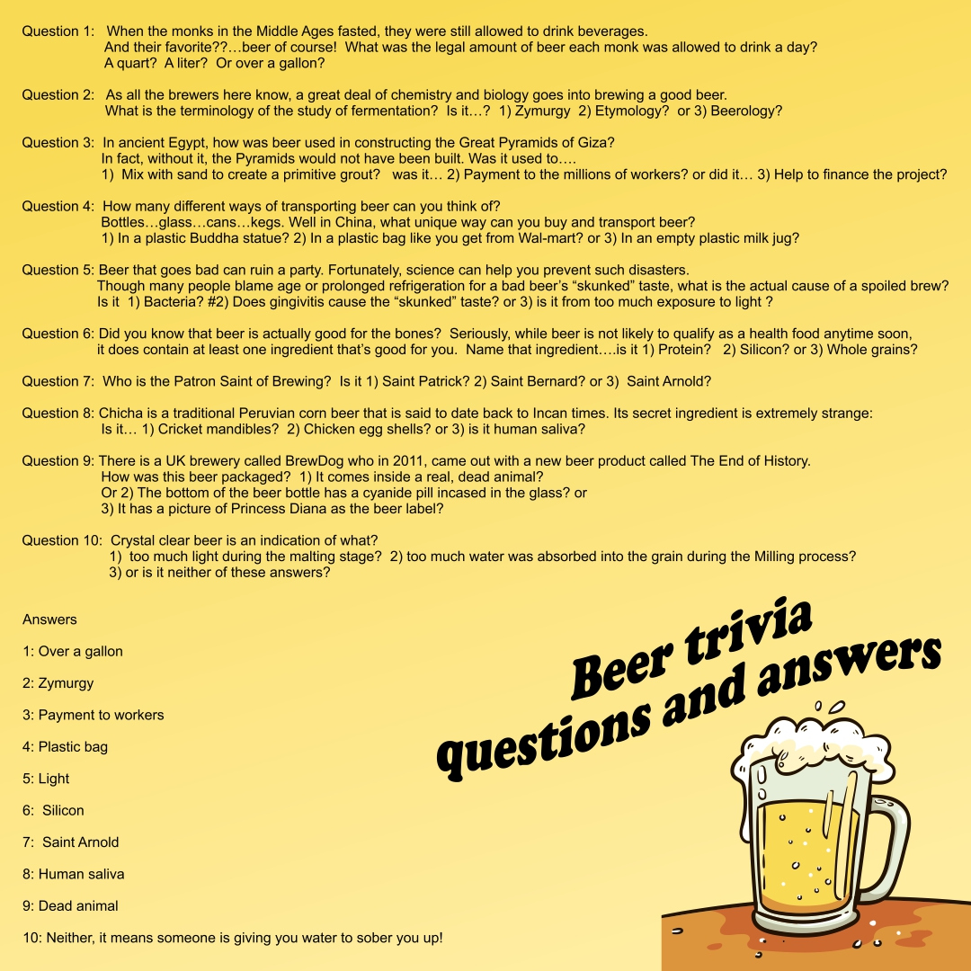 7 Best Printable Thanksgiving Trivia And Answers