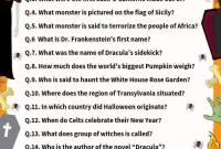 90 Halloween Trivia Questions Answers Halloween Facts