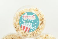 Adorable He Popped The Question Popcorn Favors