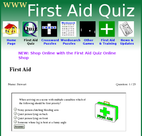First Aid Quiz Questions And Answers The Y Guide