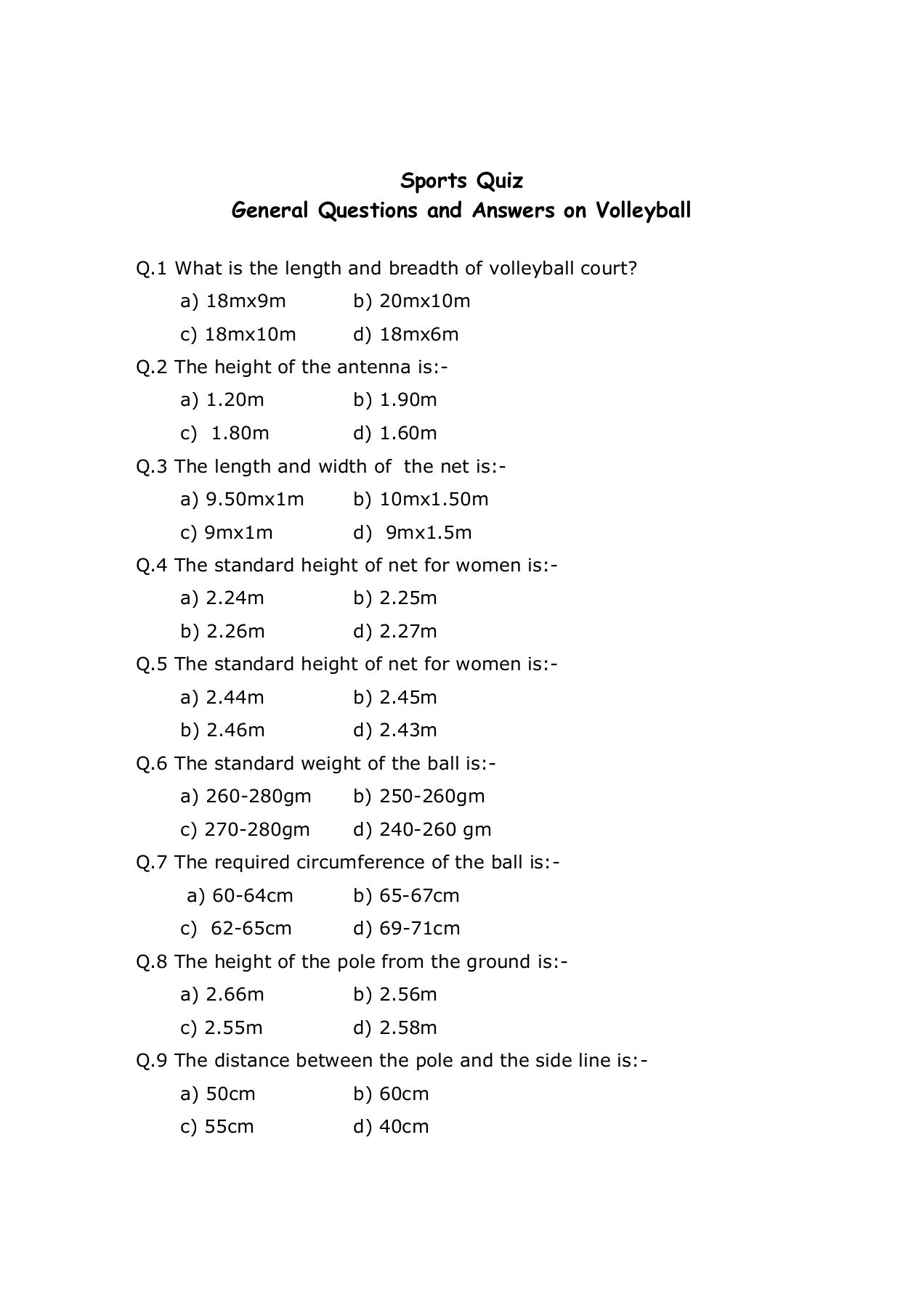 General Trivia Questions And Answers 2019 Printable