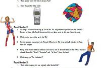 Printable 90s Quiz Question answer Game Etsy