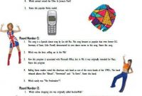 Printable 90s Quiz Question answer Game Etsy 90s Quiz