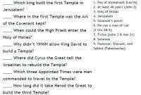 Printable Kjv Bible Trivia Questions And Answers That Are