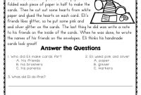 Reading Comprehension Passages And Questions For February