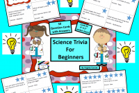 Science Trivia For Beginners 50 Question Answer Cards