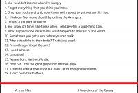 So You Think You Know MARVEL Movie Quotes Game Play