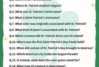 St Patrick s Day Trivia Questions Answers In 2020