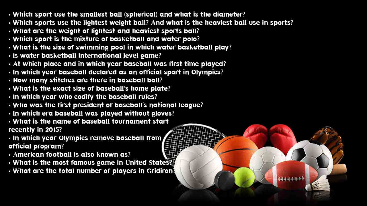Easy Sports Trivia Questions And Answers